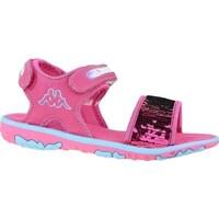 kengät Lapset Sandaalit ja avokkaat Kappa Seaqueen K Vaaleanpunaiset