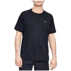 vaatteet Miehet Lyhythihainen t-paita Under Armour Tech 20 SS Novelty Tee Mustat