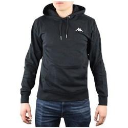 vaatteet Miehet Svetari Kappa Vend Hooded Mustat