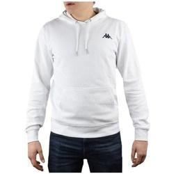 vaatteet Miehet Svetari Kappa Vend Hooded Valkoiset