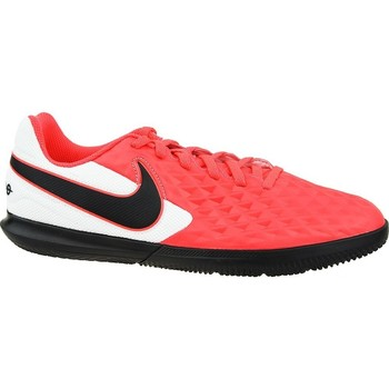 kengät Lapset Jalkapallokengät Nike Tiempo Legend 8 Club IC JR Valkoiset, Mustat, Punainen