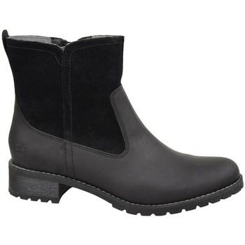 kengät Naiset Nilkkurit Timberland W Bethel Biker Mustat