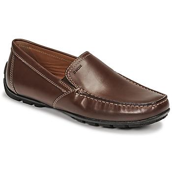 kengät Miehet Mokkasiinit Geox MONET Brown