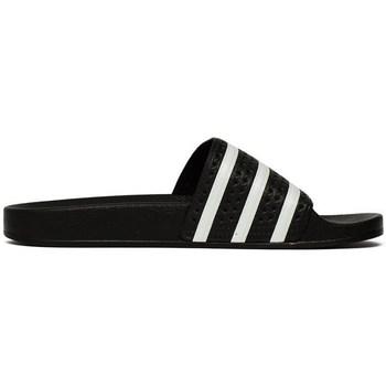 kengät Miehet Rantasandaalit adidas Originals Adilette Mustat