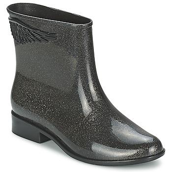 kengät Naiset Bootsit Mel GOJI BERRY II Black / Paljetti