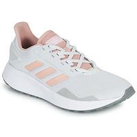kengät Matalavartiset tennarit adidas Performance DURAMO 9 Harmaa / Vaaleanpunainen