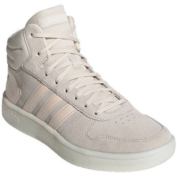 kengät Naiset Korkeavartiset tennarit adidas Originals Hoops 20 Mid Beesit