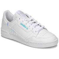 kengät Lapset Matalavartiset tennarit adidas Originals CONTINENTAL 80 J White
