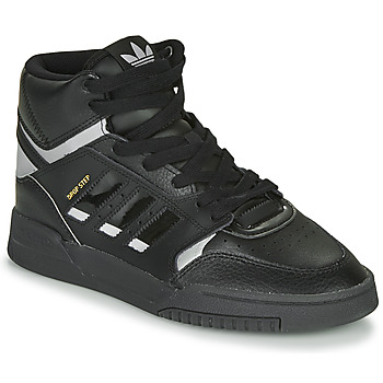 kengät Korkeavartiset tennarit adidas Originals DROP STEP Black / Hopea