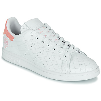 kengät Matalavartiset tennarit adidas Originals STAN SMITH W White / Pink