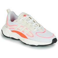 kengät Lapset Matalavartiset tennarit adidas Originals HAIWEE W Valkoinen