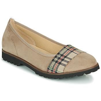 kengät Naiset Balleriinat Gabor 5410642 Beige