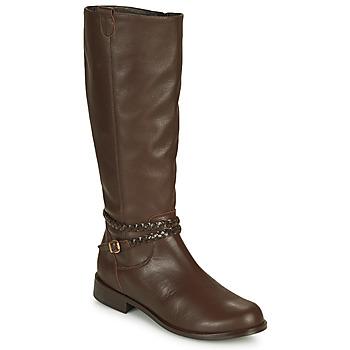 kengät Naiset Saappaat So Size AURELIO Brown