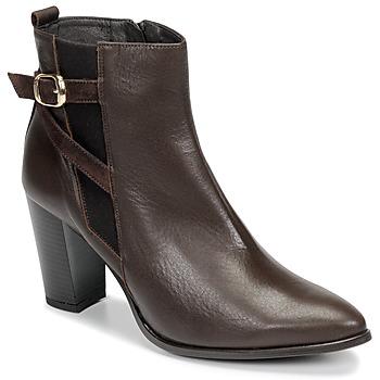 kengät Naiset Nilkkurit So Size AURELIO Brown