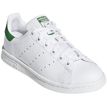 kengät Matalavartiset tennarit adidas Originals Stan Smith Junior Valkoiset