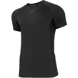 vaatteet Miehet Lyhythihainen t-paita 4F Men's Functional T-shirt Noir
