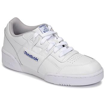kengät Lapset Matalavartiset tennarit Reebok Classic WORKOUT PLUS White