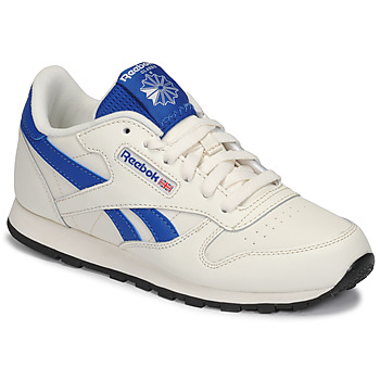 kengät Lapset Matalavartiset tennarit Reebok Classic CLASSIC LEATHER White / Blue