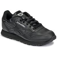 kengät Lapset Matalavartiset tennarit Reebok Classic CLASSIC LEATHER Black