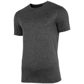 vaatteet Miehet Lyhythihainen t-paita 4F TSMF003 Grafiitin väriset