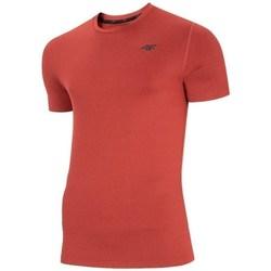 vaatteet Miehet Lyhythihainen t-paita 4F TSMF003 Punainen