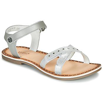 kengät Tytöt Sandaalit ja avokkaat Kickers DIDONC Hopea