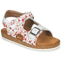 kengät Tytöt Sandaalit ja avokkaat Kickers FUNKYO White