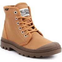 kengät Miehet Korkeavartiset tennarit Palladium Manufacture Pampa HI Originale 75349-230-M brown
