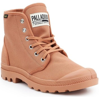 kengät Miehet Korkeavartiset tennarit Palladium Pampa HI Originale 75349-225-M brown