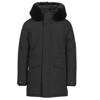 vaatteet Miehet Parkatakki Casual Attitude NAFFO Black