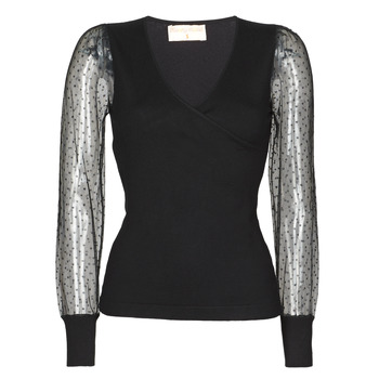 vaatteet Naiset Neulepusero Moony Mood NOXI Black