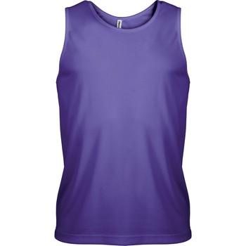 vaatteet Miehet Hihattomat paidat / Hihattomat t-paidat Proact Débardeur  Sport violet
