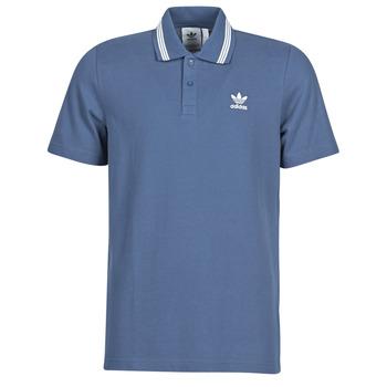 vaatteet Miehet Lyhythihainen poolopaita adidas Originals PIQUE POLO Blue