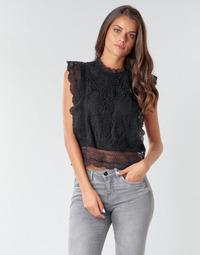 vaatteet Naiset Topit / Puserot Only ONLKARO Black