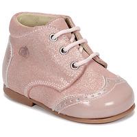 kengät Tytöt Bootsit Citrouille et Compagnie NONUP Pink