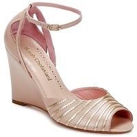 kengät Naiset Sandaalit ja avokkaat Sarah Chofakian LA PARADE Pink / Kulta