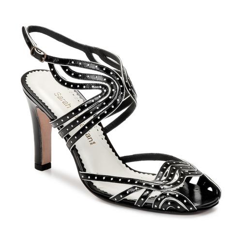 kengät Naiset Sandaalit ja avokkaat Sarah Chofakian WINGS Black / Kulta