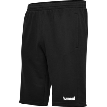 vaatteet Miehet Shortsit / Bermuda-shortsit Hummel Short  hmlGO cotton noir