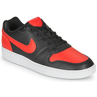 kengät Miehet Matalavartiset tennarit Nike EBERNON LOW Black / Red