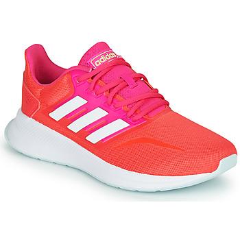 kengät Naiset Juoksukengät / Trail-kengät adidas Performance RUNFALCON Punainen / Vaaleanpunainen