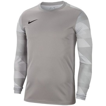vaatteet Pojat T-paidat pitkillä hihoilla Nike JR Dry Park IV Harmaat