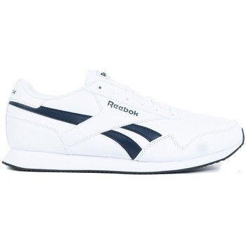 kengät Miehet Matalavartiset tennarit Reebok Sport Royal CL Jogger 3 Valkoiset, Tummansininen