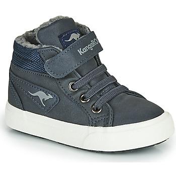 kengät Pojat Korkeavartiset tennarit Kangaroos KAVU I Blue