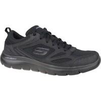 kengät Miehet Fitness / Training Skechers Summitssouth Rim Mustat