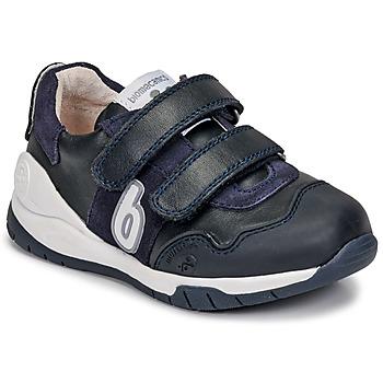 kengät Lapset Matalavartiset tennarit Biomecanics DEPORTIVO BASICO Laivastonsininen