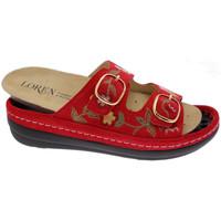 kengät Naiset Sandaalit Calzaturificio Loren LOB5021ro rosso