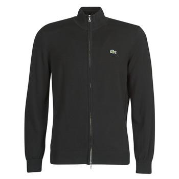 vaatteet Miehet Neuleet / Villatakit Lacoste AH1957 Black