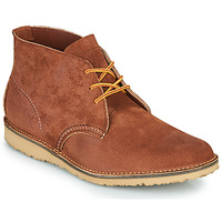 kengät Miehet Bootsit Red Wing WEEKENDER CHUKKA Brown