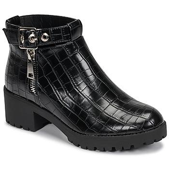 kengät Naiset Bootsit Moony Mood NIETTE Black