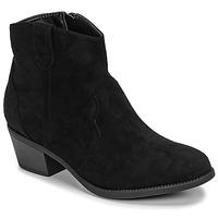 kengät Naiset Bootsit Moony Mood NINITE Black